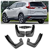 mud flap crv - Set of 4Pcs Black ABS Plastic Mud Flaps Splash Guards Fender Fit for Honda CR-V 2017 2018