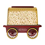 Tabletop Popcorn Machine- Vintage, Retro Electric Counter Top Theater Style Popper Popcorn Maker Carnival Style Cart for Movie Night by Chef Buddy