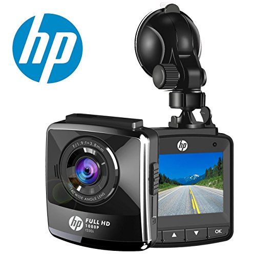 """Price comparison product image HP Car Camera Dash Cam 1080P Full HD Video Recorder In Car Dashboard Camera With Night Vision 2.4"""" IPS LCD G-Sensor Parking Monitor WDR Motion Detection Loop Recording"""