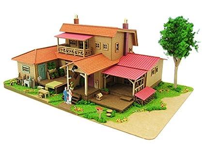 Amazon 1150 Studio Ghibli Series 8 Oiwa House Paper Craft