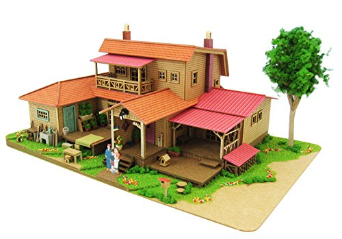 1/150 Studio Ghibli series 8 Oiwa House (Paper craft) MK07-1