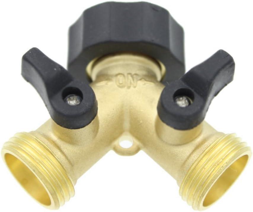 Grifo externo 1//2 a 1//4 adaptador de v/álvula de agua conector de la v/álvula de bola tee herramienta de fontaner/ía Grifo 1pcs RO RSS