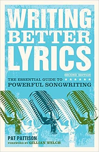 Writing Better Lyrics Pattison Pat 0035313646447 Amazon Com Books Thanks for watching ❤️ видео aangan ost lyrics without dialogue канала anzum dwan. writing better lyrics pattison pat