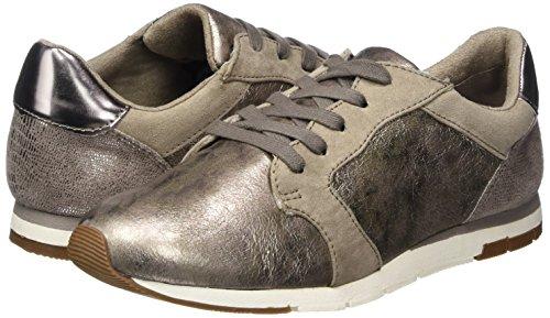 Comb Basses Marron Femme Tamaris Sneakers taupe 23617 wxEYUxSzqT