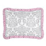 Sweet Jojo Designs Standard Pillow Sham for Girls Skylar Bedding Sets