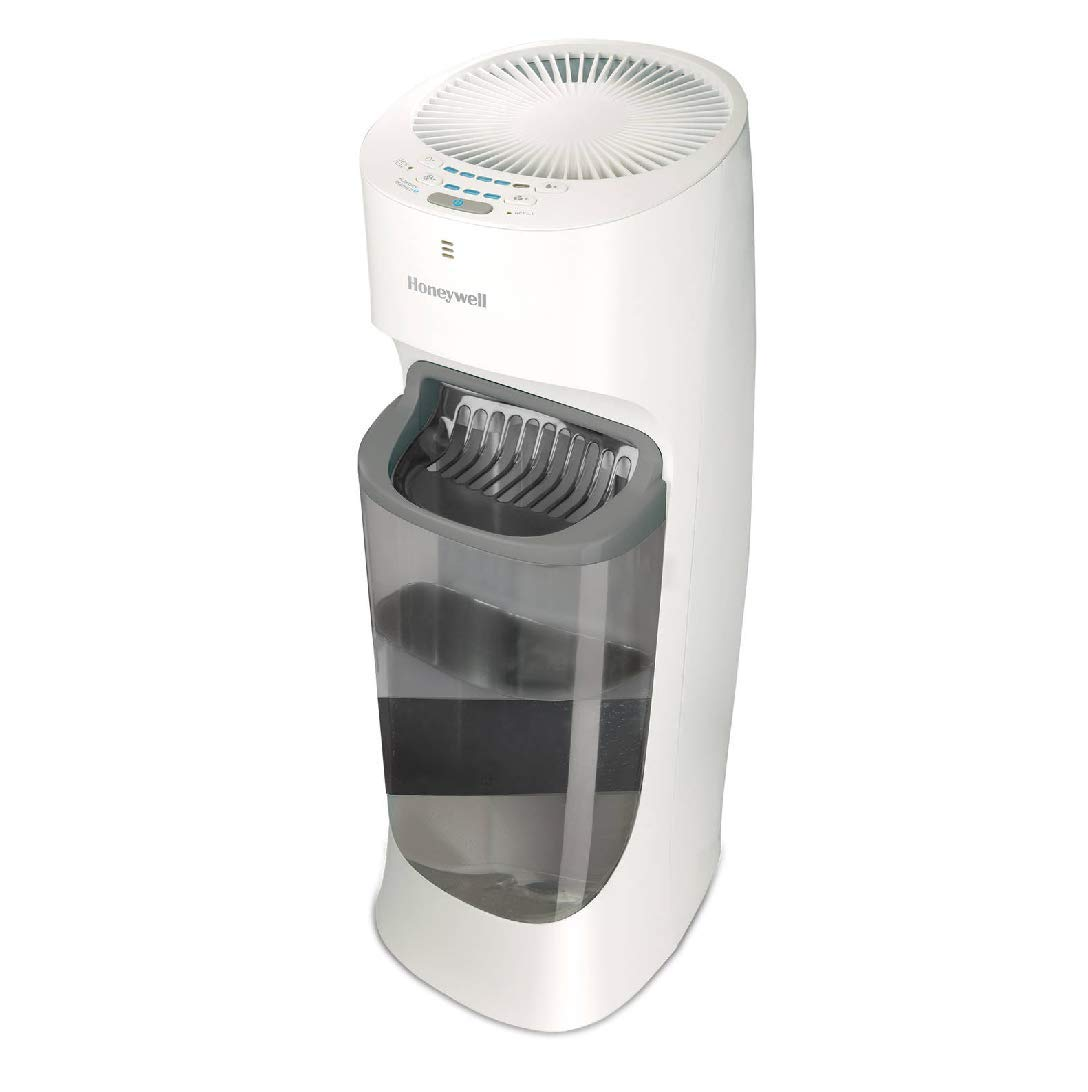 Honeywell HEV615W Top Fill Cool Moisture Tower Humidifier, White
