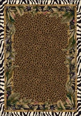 Milliken Signature Jungle Safari   Skins Area Rug 3'10