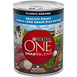 Purina ONE SmartBlend Healthy Puppy Natural Classic Ground Pate Lamb & Long Grain Rice Entree Wet Puppy Food - (12) 13 oz. Cans
