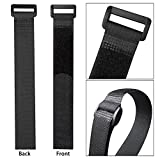 CandyHome 20pcs Reusable Fastening Cable Straps and