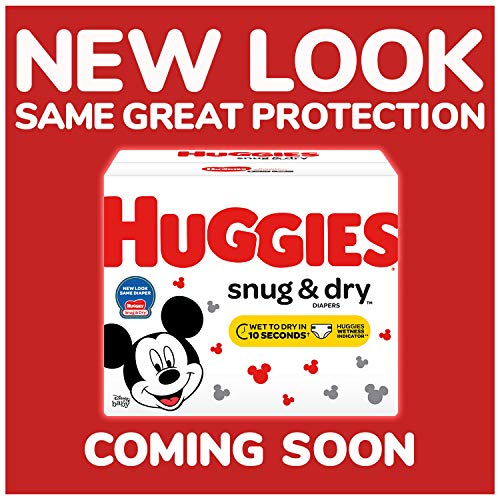 Large Product Image of HUGGIES Snug & Dry Diapers, Size 4, 192Count (Packaging May Vary)
