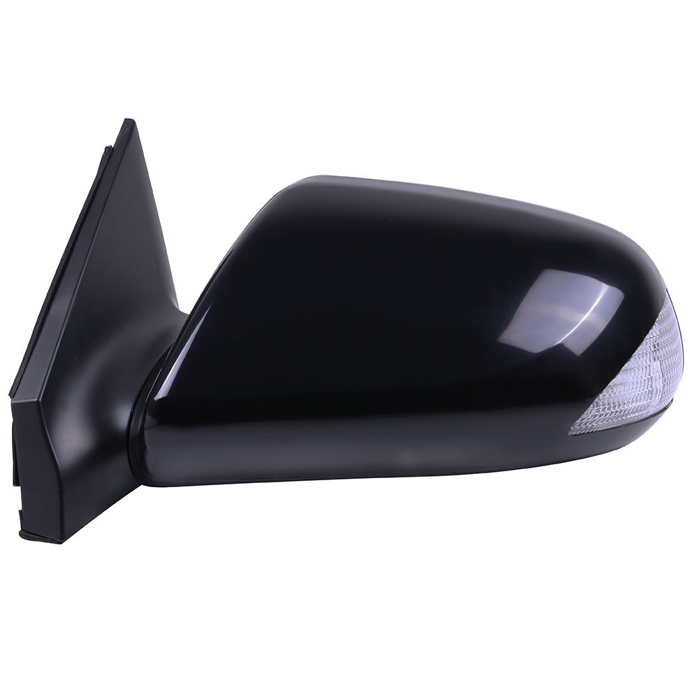 cciyu Door Mirror Left Driver Side Power Adjusted Manual Folding with Signal Function fit for 2005-2010 Scion tC Base Coupe