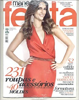 Manequim Brazilian Magazine - Nº 654A- 10.2013/ Sewing Patterns Inside (Portuguese Brazilian) Paperback – 2013