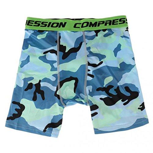 ハシー交渉するフォアマンノーブランド品 2枚 メンズ 弾性 吸汗 通気性 フィットネス タイツ ランニング コンプレッションショーツ ハーフパンツ 全3色3サイズ - #2, XL