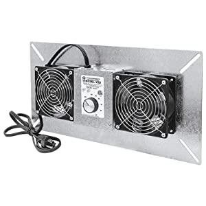 Tjernlund UnderAire Crawlspace Ventilator Fan Moisture Mold Reducing