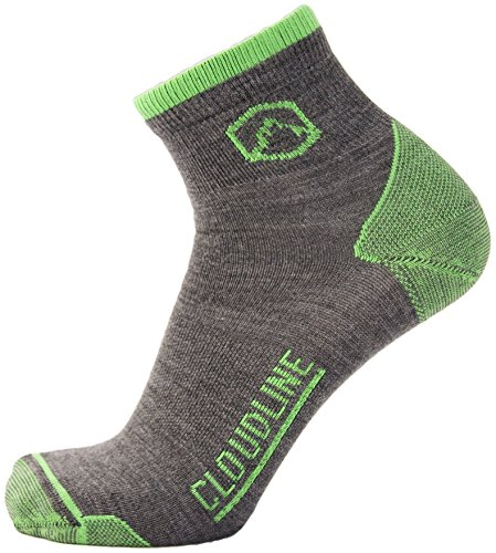 cloudline-merino-wool-1-4-top-running-athletic-socks-ultra-light-large-pnw-green-made-in-the-usa