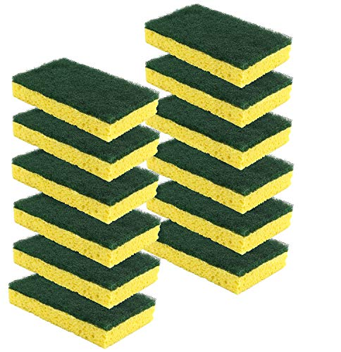 - Scrub-It Heavy Duty Scrub Sponge - Made From Tough Cellulose - Non-Scratch - Eco Friendly - Lasts For Months Of Heavy Duty Kitchen Cleaning