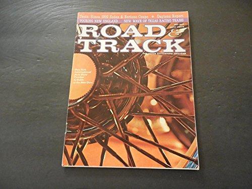 Road Track May 1963 Simca 1000 Sedan; Bertone Coupe; Daytona Report