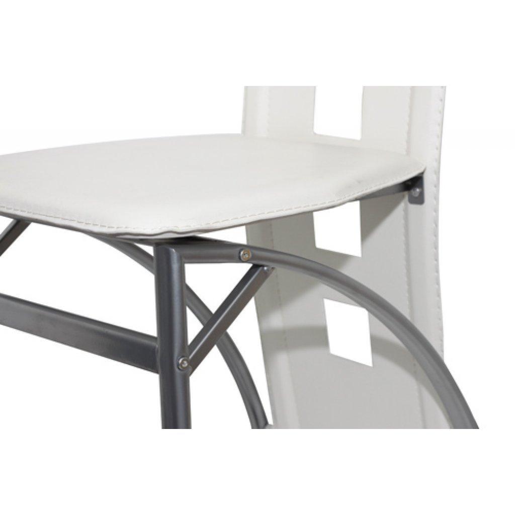 sedie moderne design ecopelle bianche, sedie pranzo, cucina e ... - Design Soggiorno Pranzo 2