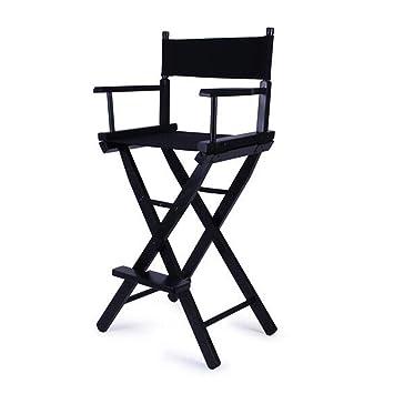 ShJttt chair or stool Chaise Haute de Directeur en Bois