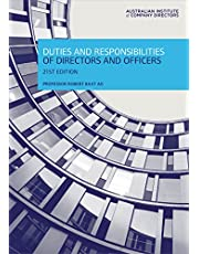 Duties and Responsibilities of Directors and Officers
