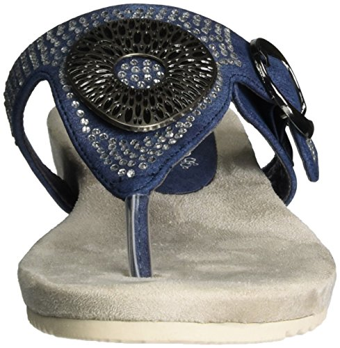 Rieker V5360, Protectores de Dedos para Mujer Azul (Baltik / 14)