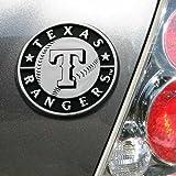 MLB Texas Rangers Auto Emblem