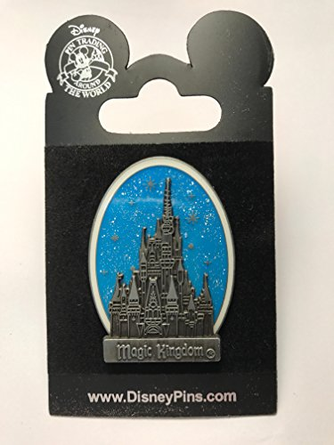 (Disney Pin Magic Kingdom Castle Blue)