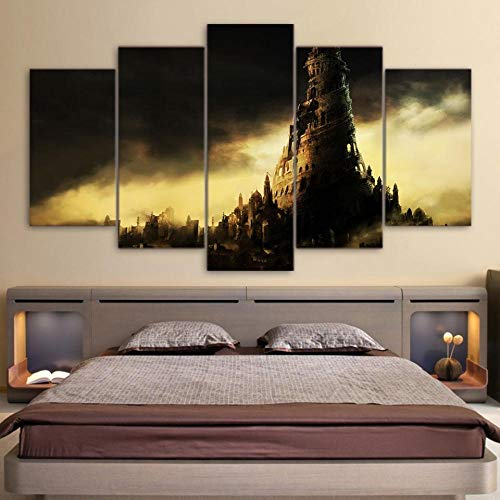 Zhy-YH Modern Home Wall Art Pictures Decor Prints Prince of Persia The Two Thrones Painting Vintage Canvas Poster