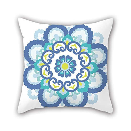 Uloveme Bohemian Christmas Pillow Covers Best For Festival Lover Chair Office Drawing Room Couch 20 X 20 Inches / 50 By 50 Cm(double Sides)