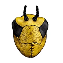 YUFENG Movie Theme Mask Halloween Party Resin Collection Props,Masquerade Costume Decoration,Halloween,Party,Cosplay (yellow worm mask)
