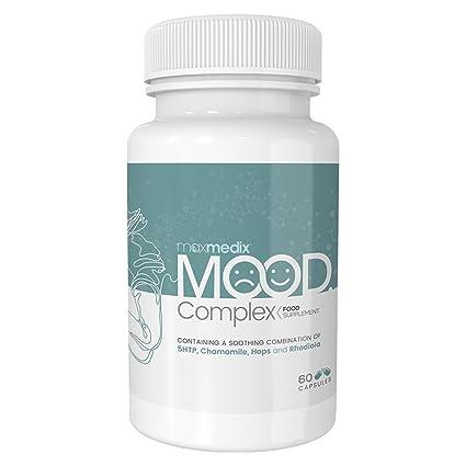 Mood Complex - Suplemento Natural Para Controlar El Estado De Ánimo - Complejo De Vitaminas Y