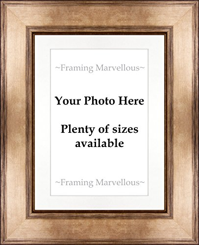 Amazon Com Framing Marvellous Metallic Bronze Wooden