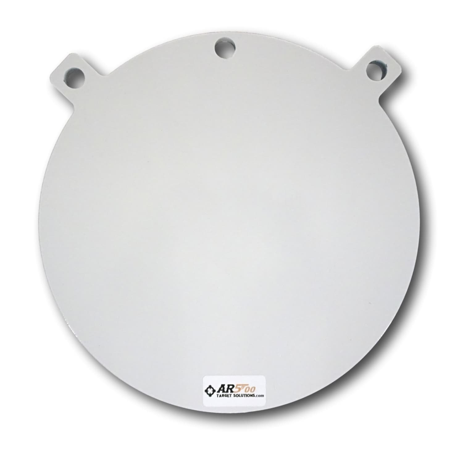 Ar500 Target Solutions- Quality 3/8, 1/2 Thick AR500 Steel Targets- Laser Cut Powder Coated Made in USA (10'', 1/2)