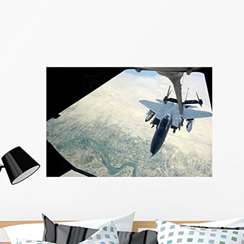 N F-15e Strike Eagle Wall Mural by Wallmonkeys Peel and Stic