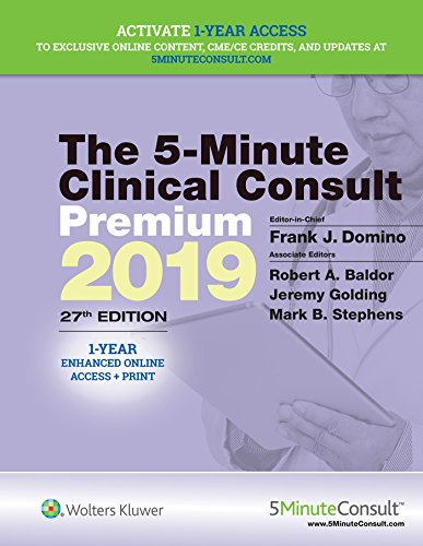The 5-Minute Clinical Consult Premium 2019 (The 5-Minute Consult Series)