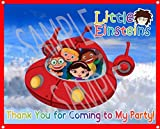 "Little Einsteins Large Vinyl Indoor or Outdoor Banner Sign Poster Backdrop, party favor decoration, 30"" x 24"", 2.5 x 2, Disney Jr."
