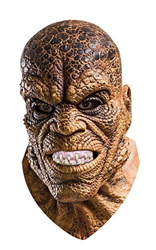 Halloween Serial Killer Mask (Rubie's Costume Co Suicide Squad Killer Croc Overhead Latex Mask, Multi, One)