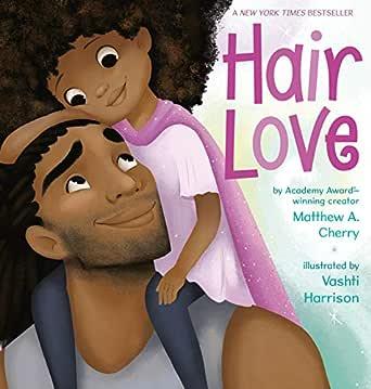 Hair Love eBook: Cherry, Matthew A., Harrison, Vashti: Amazon.ca ...