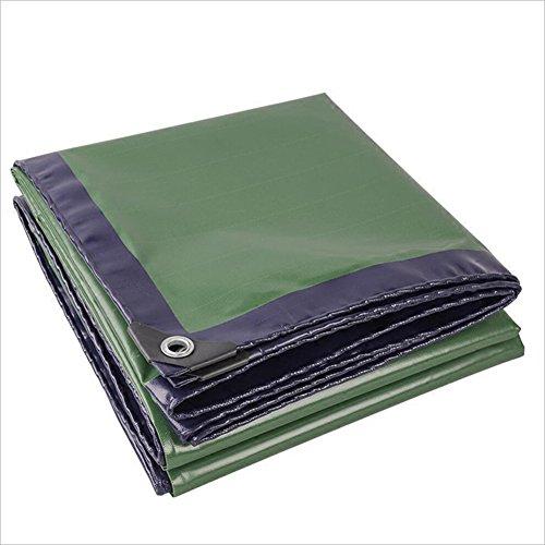まとめる大学生集団PENGFEI 緑 オーニング エッジング 防水 雨布 キャンプマット 防湿性 霜の保護 日焼け止め 絶縁、 厚さ0.35mm、 420g / m2、 10サイズのオプション ( サイズ さいず : 3 x 3m )