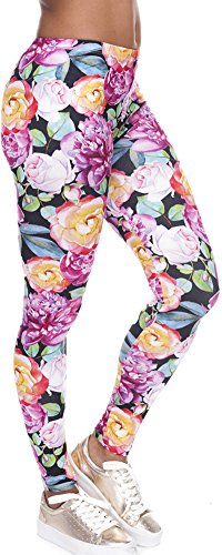 Ndoobiy Leggings Digital Printed Workout