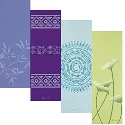 Gaiam Print Premium Yoga Mats (5mm) by Gaiam