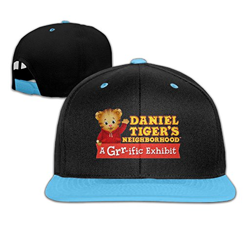 Daniel Tiger's Neighborhood Logo Custom Girl Boy Child Hip-hop Hat Cotton Style]()