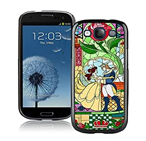 Beautiful Designed Case With Beauty And The Beast Black For Samsung Galaxy S3 I9300 Phone Case