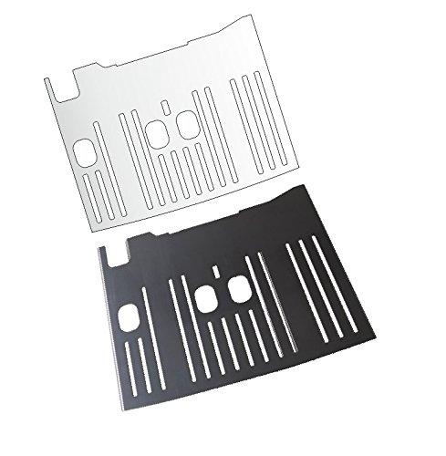 Tropfblech 350.35-350.15 Abtropfblech 1x Schutzfolie für DeLonghi Dinamica