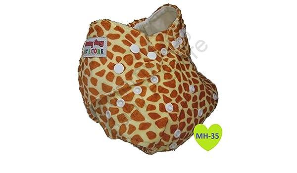 Pañal de tela de Mummy Hug®, reutilizable, lavable, de bolsillo; de alta calidad MH-35: Amazon.es: Bebé