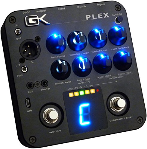 Gallien-Krueger PLEX Preamp - 4 Band Active Preamp Pedal by Gallien-Krueger