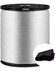 """VEVOR Polyester Pull Tape, 1250 lbs Tensile Capacity, Professional Flat Rope 528' x 1/2"""" Extended Reel, Polyester Webbing Suitable for Packaging in Crafting, Gardening and Commercial Electrical"""