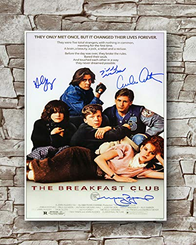 Zero.o The Breakfast Club Movie Poster Size 18 Inches X 24 Inches,The Breakfast Club Poster -