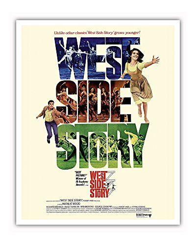 West Side Story - Starring Natalie Wood and Richard Beymer -