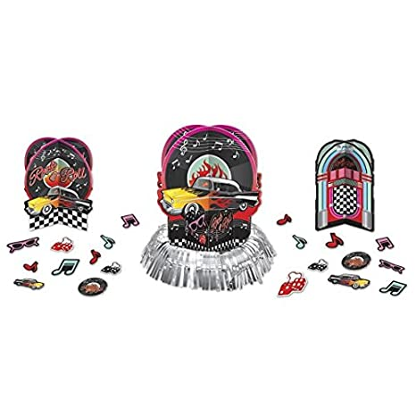 50s Party Table Decorating Kit Amscan 281276